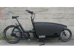 Urban Arrow Family E-bike Bakfiets zwart DISC